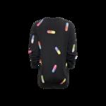 Black Pill Sweater Dress