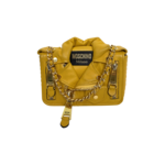 Yellow Biker Crossbody Bag