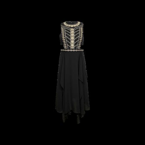 "Black ""Adelia"" Cut-Outs Dress"