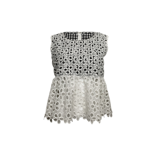 Anna Sui Opening Ceremony x Anna Sui Gingham Daisy Crop Top