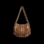 Multi Color Woven Shoulder Bag