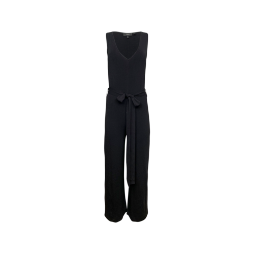 """Theory Black """"Lustrate"""" Jumpsuit"""