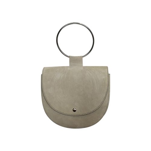 """Theory Beige """"Whitney"""" Suede Bag"""