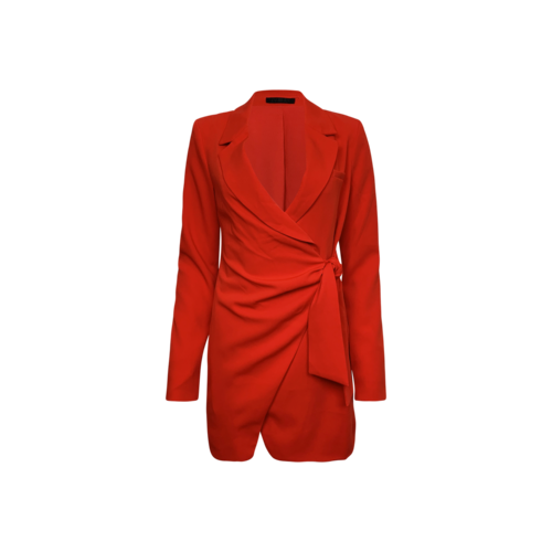 LPA Red Blazer Dress