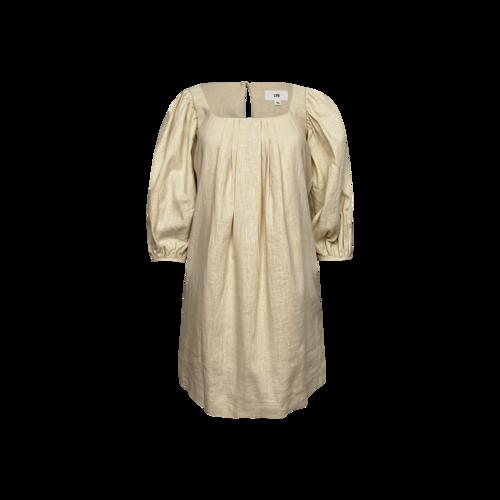 "LPA Beige ""Shailene"" Dress"