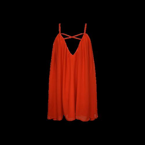 """Lovers and Friends Blood Orange """"Titan"""" Mini Dress"""