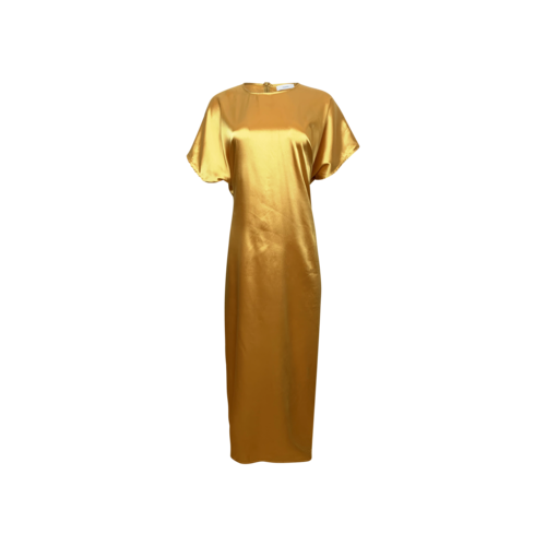 "Noyette Honey Yellow ""Fillmore"" Maxi Dress"