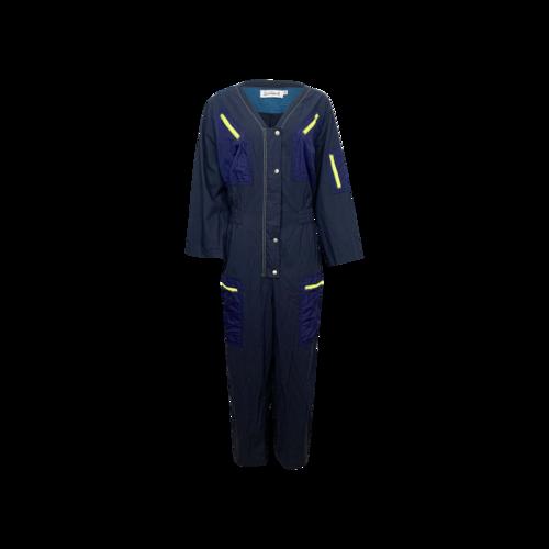 """Rachel Antonoff Navy Blue """"Amelia"""" Flight Suit"""