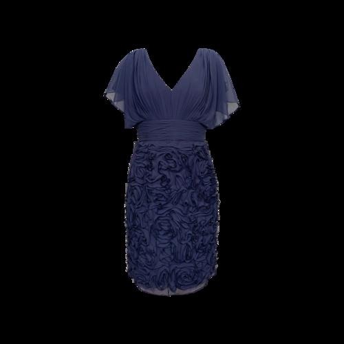 JS Boutique Blue Rosette Dress