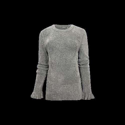 "Elie Tahari Platinum Grey ""Embla"" Sweater"
