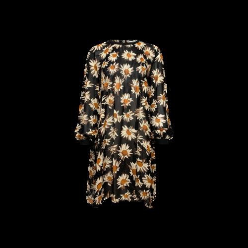 Sonia by Sonia Rykiel Sheer Yellow Daisy Print Dress