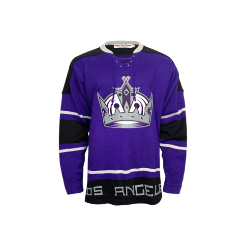 Vintage Purple Vintage Men's CCM NHL LA Kings Jersey