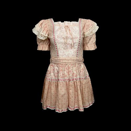 Vintage Pink Vintage Sororite Milkmaid Dress