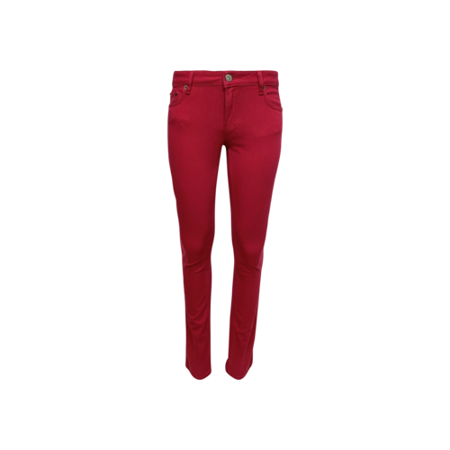 Valentino Fuchsia Stretch Pants with Bows on back pockets