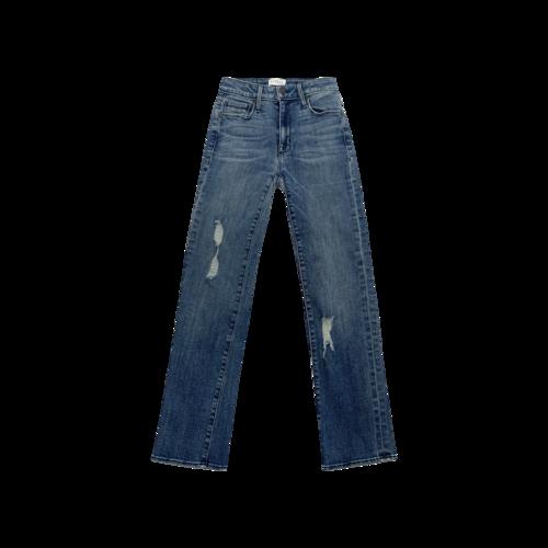 "Parker Smith Blue ""Ava"" Cropped Skinny Jeans"
