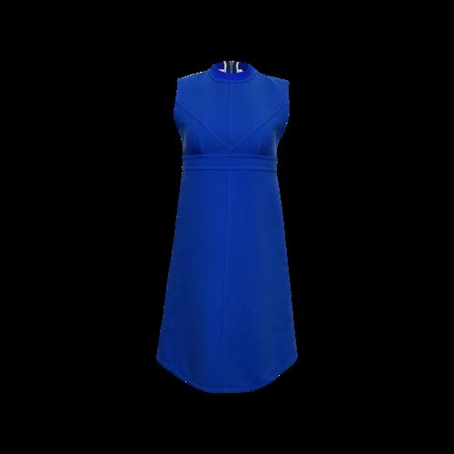 Louis Vuitton Blue Structured Dress