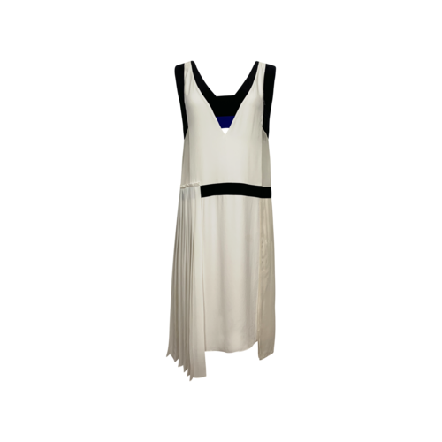 """BCBGMAXAZRIA White Multi """"Iris"""" Dress"""