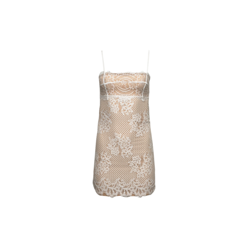 """Majorelle White """"Apollo"""" Lace Dress"""