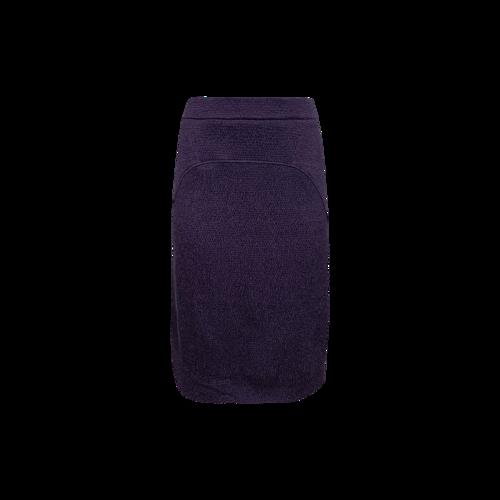 CELINE Purple Pencil Skirt