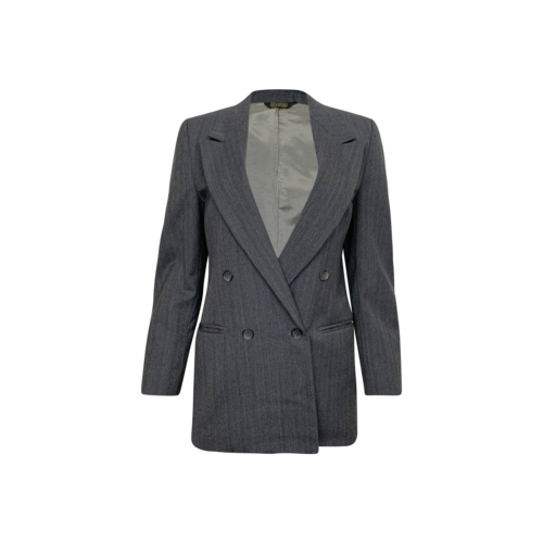 Dior Grey Pinstripe Christian Dior Juene Homme Blazer