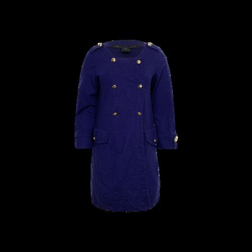 Marc Jacobs Navy Blue Coat Dress