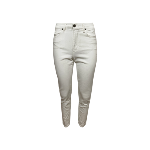 Mott and Bow White Mom Jeans