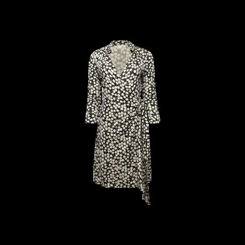 """Diane von Furstenberg Floral Print """"Jenna"""" Wrap Dress"""