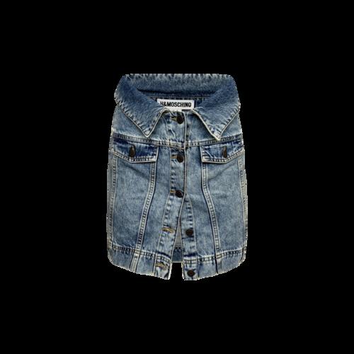Moschino X H&M Denim Skirt