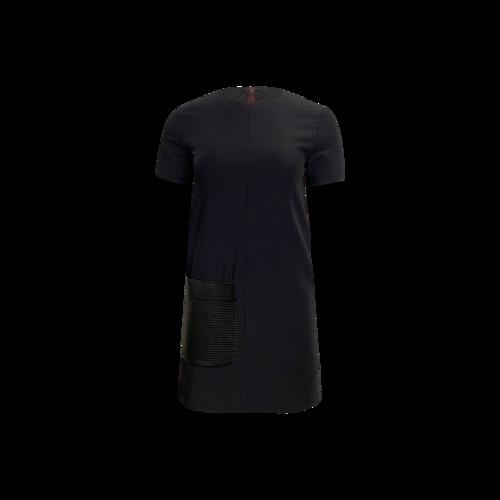 rag & bone Two-Tone Shift Dress w/ Textured Front Pocket