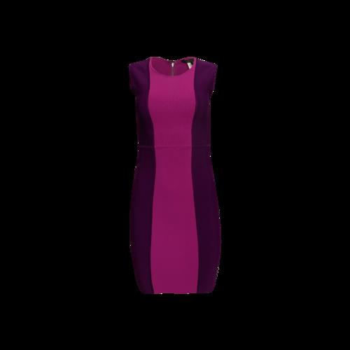 """BCBGMAXAZRIA Pink Colorblock """"Aliza"""" Bodycon Dress"""