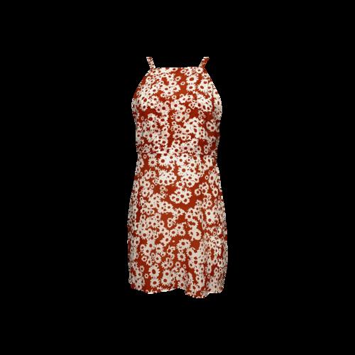 """Realisation Par Orange Floral Morning Glory Print """"Sunny"""" Dress"""
