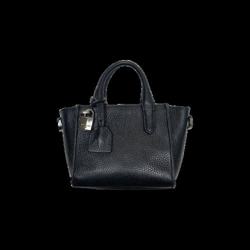 "Zadig & Voltaire Black ""Nano"" Mini Bag"