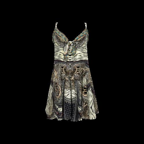"""Camilla Multi-Print """"Cover-Ups"""" Dress"""