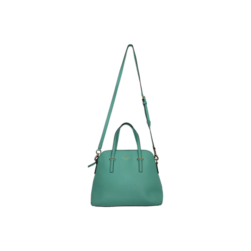 "Kate Spade ""Cedar Street"" Maise Leather Crossbody Bag in Fresh Air Blue"