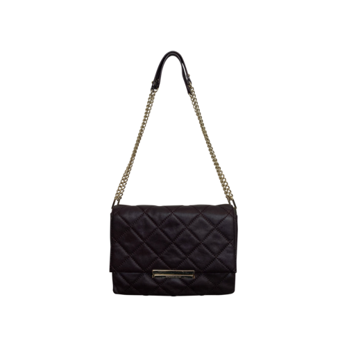 """Kate Spade Purple """"Lenia"""" Quilted Leather Purse"""