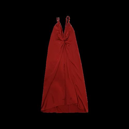 "Reformation Crimson Red ""Robertson"" Dress"