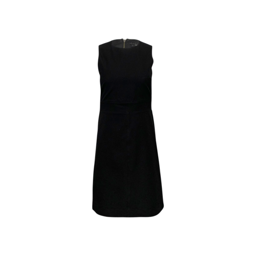 Theory Black Stretch Sheath Dress