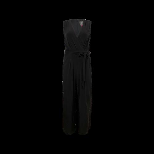Vince Camuto Black Wrap Style Jumpsuit