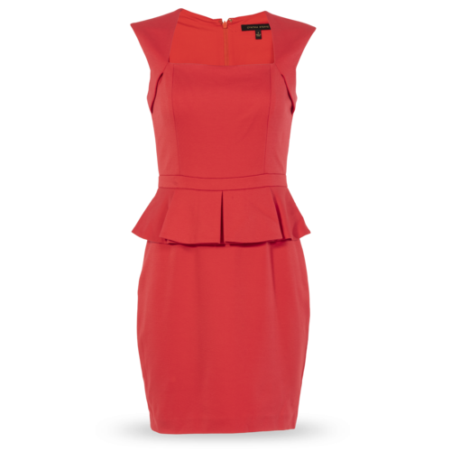 Cynthia Steffe Pink Cap-Sleeve Dress