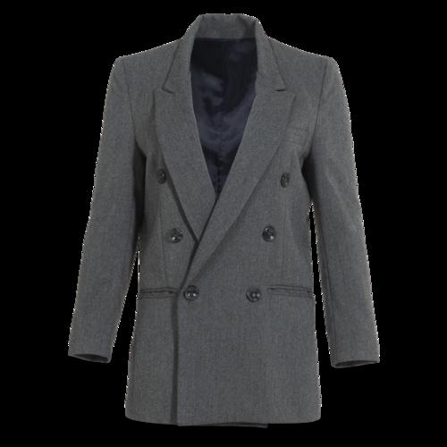 Boutique Grey Sample Blazer Coat From Korea