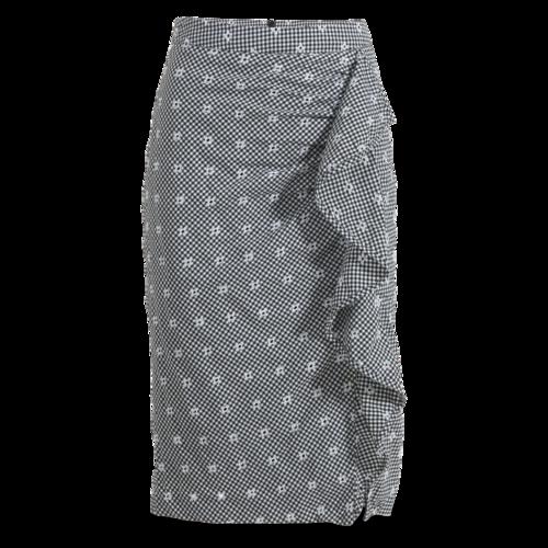 Nanette Lepore Gingham Skirt