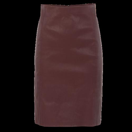 Vince Plum Pencil Skirt