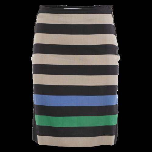Diane von Furstenberg Striped Pencil Skirt