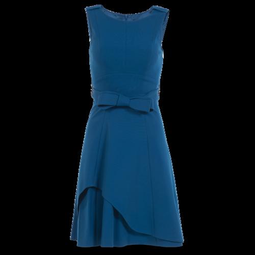 Karen Millen Teal Sheath Dress