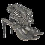 BGBCMAXAZRIA Metallic Heels