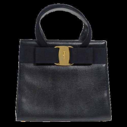 Salvatore Ferragamo Square Top-Handle Bag