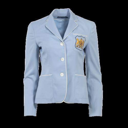 Ralph Lauren Blue Embroidered Blazer