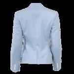 Blue Embroidered Blazer
