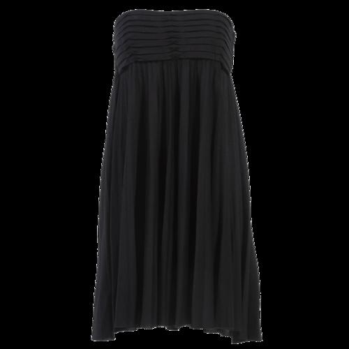 Maje Black Pleated Skirt