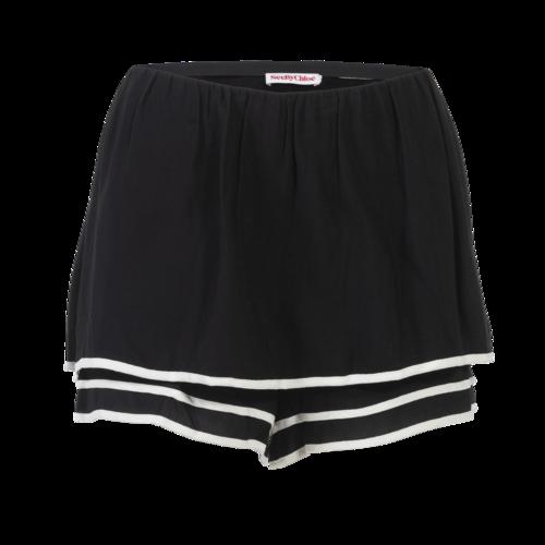 Chloé See by Chloe Black Flowy Shorts